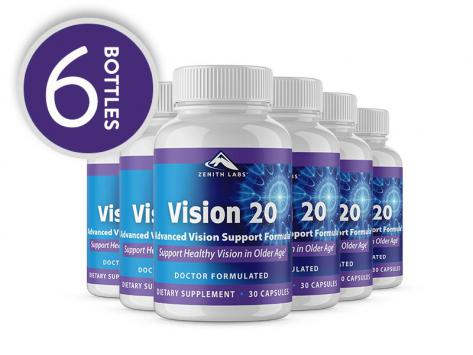 supplement: Vision 20 - 6-Month Supply