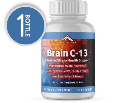 Supplements: Brain C-13 - 30-Day Supply